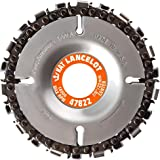 King Arthur S Tools Original Patented Lancelot 22 Tooth Carving Disc 4 100mm Dia X 5 8 16mm Bore Fits 4 And 4 1 2 Woodworking Angle Grinder Attachment For Milwaukee Fein 45822 Power Angle Grinders Amazon Com