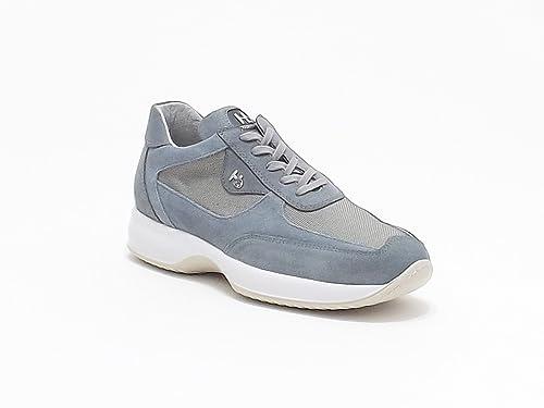 premium selection 96796 85199 Hornet Botticelli scarpe uomo interactive in camoscio e ...