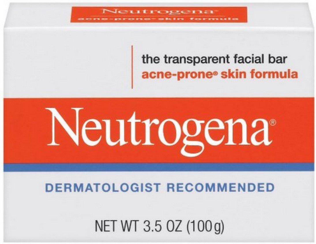 Neutrogena Acne Prone Skin Formula Facial Bar 3.50 oz (Pack of 11)