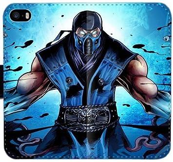 Mortal Kombat Sub Zero Ninja Arte YPQ Funda iPhone B2Q5R 6 ...