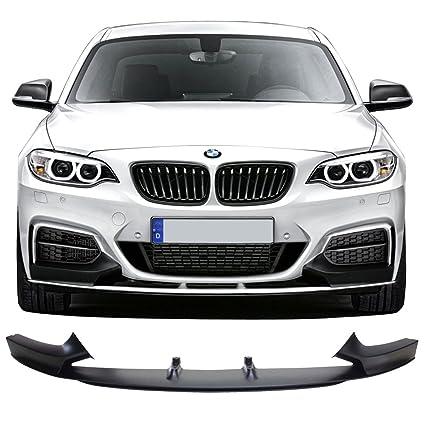Front Bumper Lip Fits 2014 2017 BMW F22 2 Series