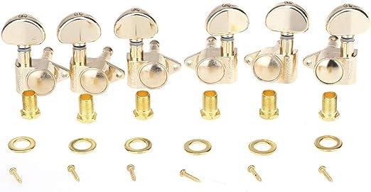 Wilkinson 3L3R Estilo Roto Sellado Set de Clavijas de Afinación ...