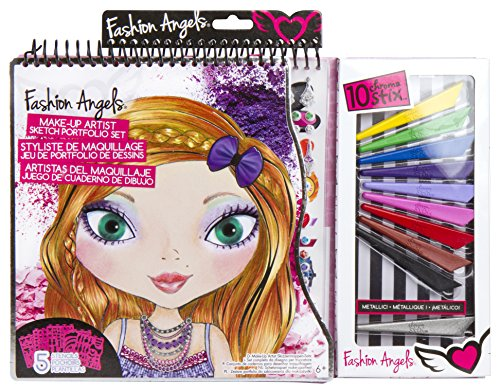 Fashion Angels Make-Up Artist Sketch Portfolio Set