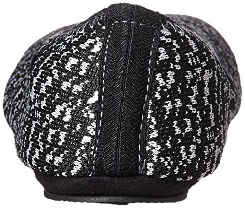 Carrying Women's Travel Ballerina Foldable Knit Black Sport Slipper Marled ISOTONER with Print Pouch f8wdIqxqU