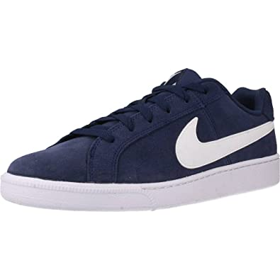 Nike Chaussures Baskets Court Royale Suede Noir H Nike soldes JfMhy