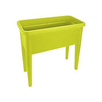 Elho Green Basics Anzucht Tisch Xxl Ubertopf Lime Grun Amazon De