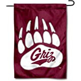 College Flags & Banners Co. Montana Grizzlies Paw Garden Flag