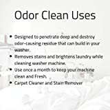 OdorClean - Washing Machine Cleaner - Eliminates