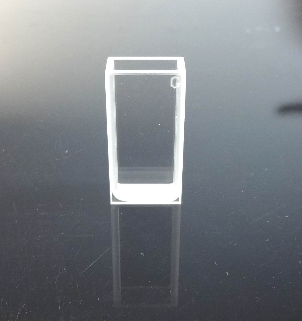 Glass Cuvette,large Cuvette, Light Path 6.35mm, Volume 3.5ml, Cell, Large Cell