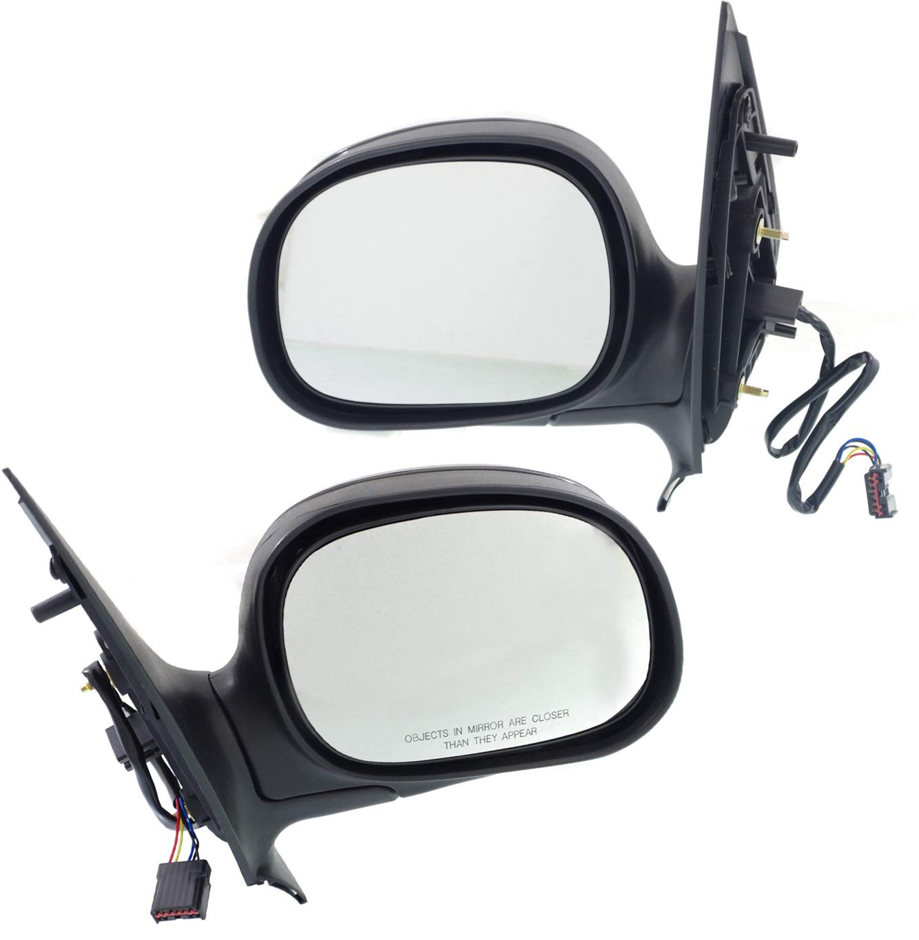 Power Heated Rear View Folding Mirror Left Driver Side For 98-02 Ford Expedition