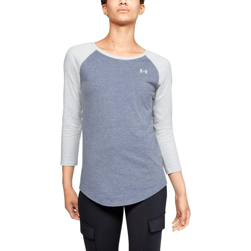Under Armour Women's Outdoor Utility Tee, Utility Blue Light H (498), X-Large by Under Armour