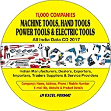 Machine Tools, Hand Tools, Power Tools & Electric Tools Companies Data