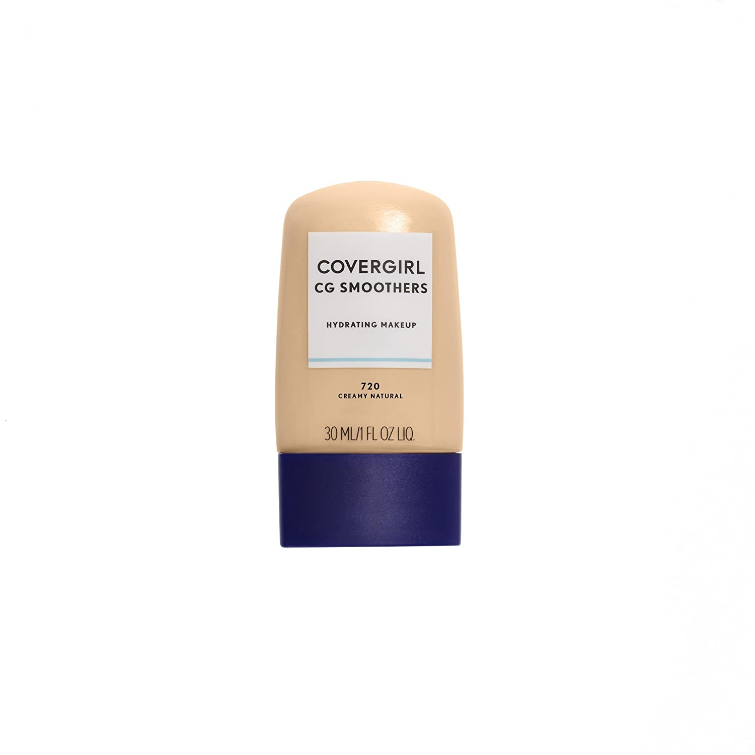 COVERGIRL Smoothers Hydrating Makeup Foundation, Creamy Natural (packaging may vary)