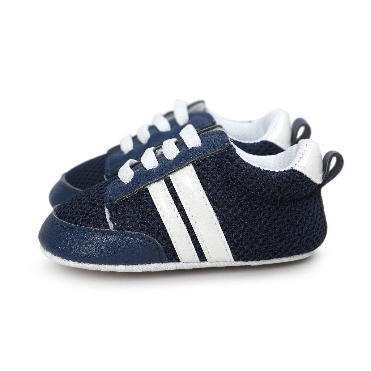 Yohuiya Baby Girls Boys Shoes Infant Prewalker Toddler Shoes Premium Soft Sole Fashion Baby Sneakers