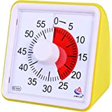 AIMILAR 60 Minute Visual Timer - Silent Timer Time Management Tool for Classroom or Meeting Countdown Clock for Kids and Adul
