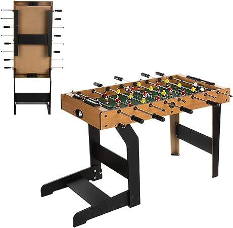 ColorBaby - Futbolín de madera plegable CBGames (85332): Amazon.es: Juguetes y juegos