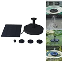 XXYsm Floating Solar Powered Pond Garden Water Pump Fountain Kit Bird Bath Fish Tank