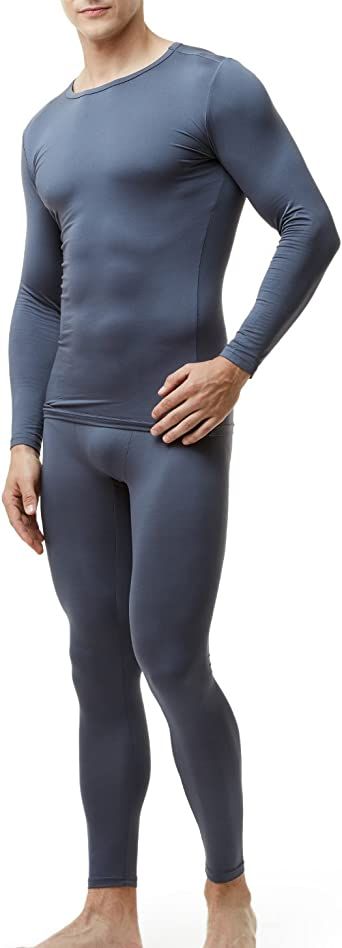 TSLA Men's Thermal Underwear Set