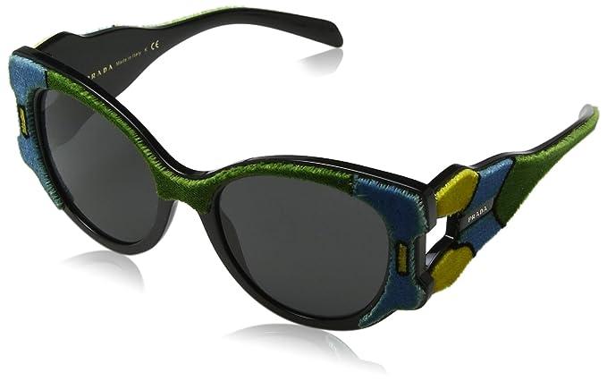 Prada 0PR10US I8A5S0 54, Gafas de Sol para Mujer, Verde ...