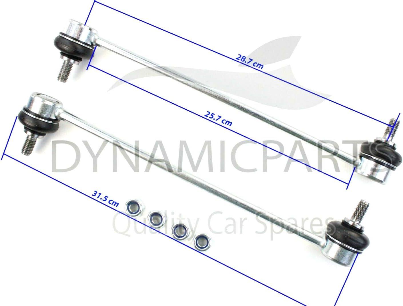 2002-2008 Pair Fiesta V Front Stabiliser Anti Roll Bar Drop Links 1761200