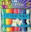 DMC Prism Craft Thread Jumbo Pack, Multicolor, 105-Pack