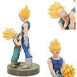 CYRAN Dragon Ball Z Vegeta e Trunks Figura Figura Azione Anime Super Saiyan Toy per bambini