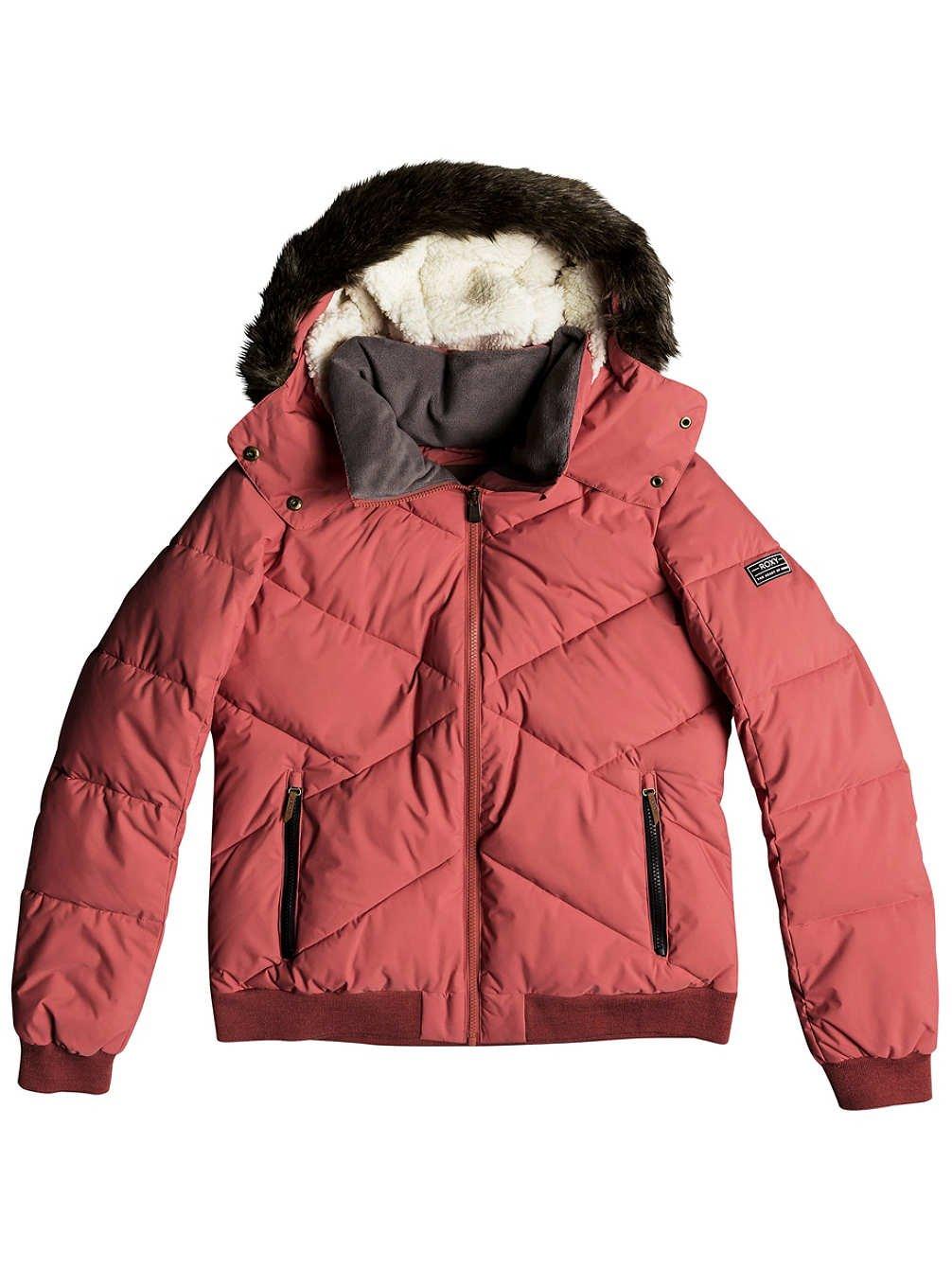 buy online 58afc c1de8 Roxy Hanna Cappotti Donne Rosa - M - Piumini: Amazon.it ...