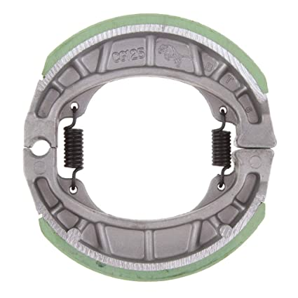 Amazon com: Flameer 105mm Rear/Front Drum Brake Pads Shoes
