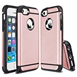 CHTech Dual Layer Armor Case for Apple iPhone 5 / 5s / SE - Rose Gold