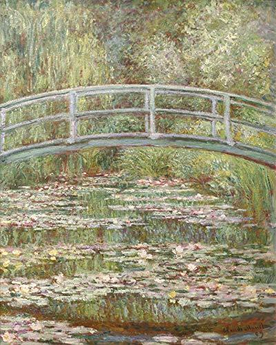 Claude Monet Bridge Over a Pond of Water Lilies Metropolitan Museum of Art, New York 30