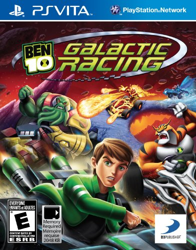 Ben 10 Galactic Racing - PlayStation Vita by D3 Publisher