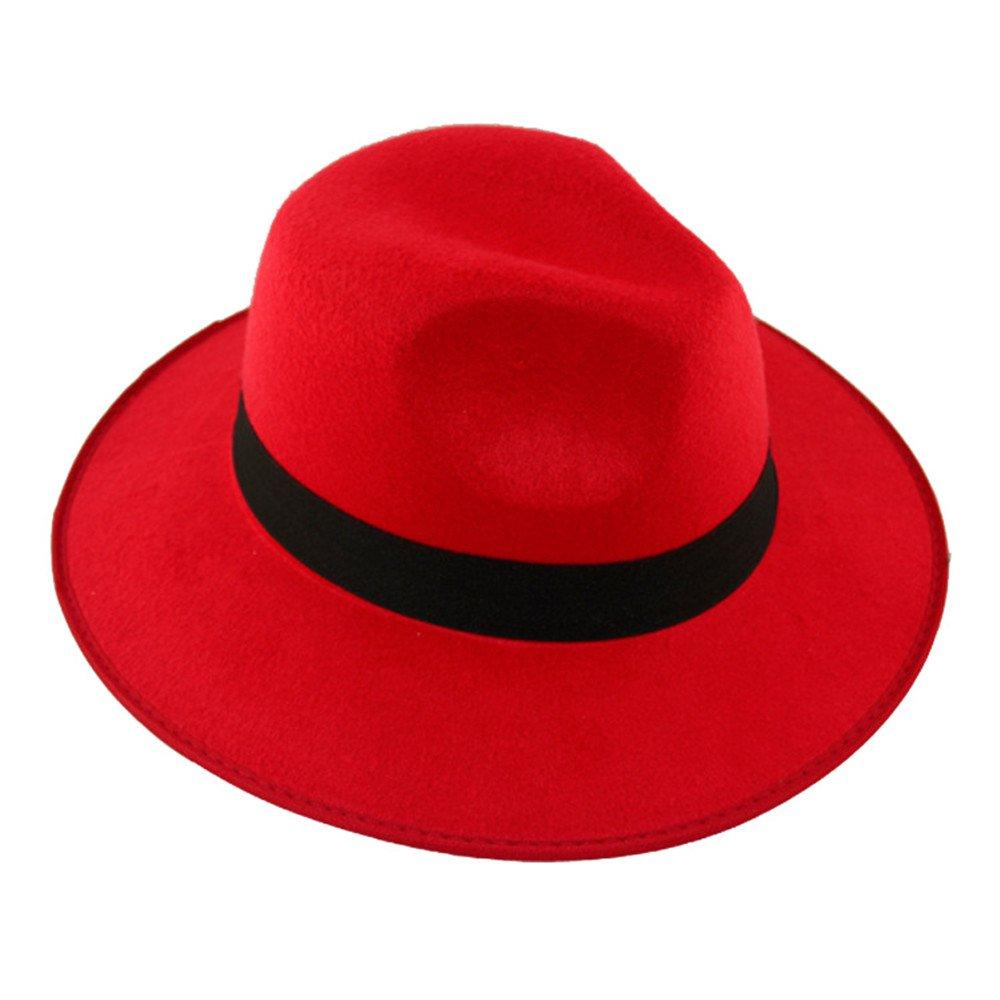 Mädchen Frauen Mode Dame Herbst-Winter 5 Farboptionen Panamahüte DH203A