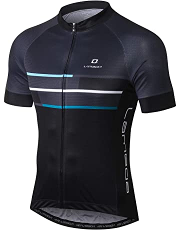 9c8f489578e1c Lameda Cycling Jerseys for Men Breathable Short Sleeve Bike Tops Team  Sports Hiking Running Clothing