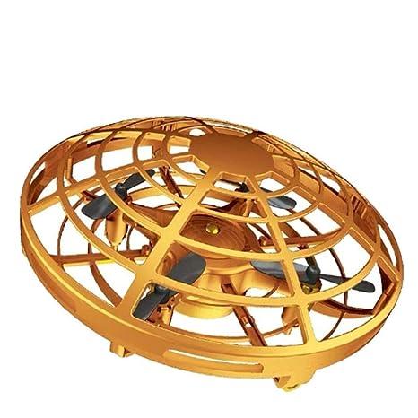 WEALTH Mini Drone Volar Juguete operado a Mano Drones para niños o ...