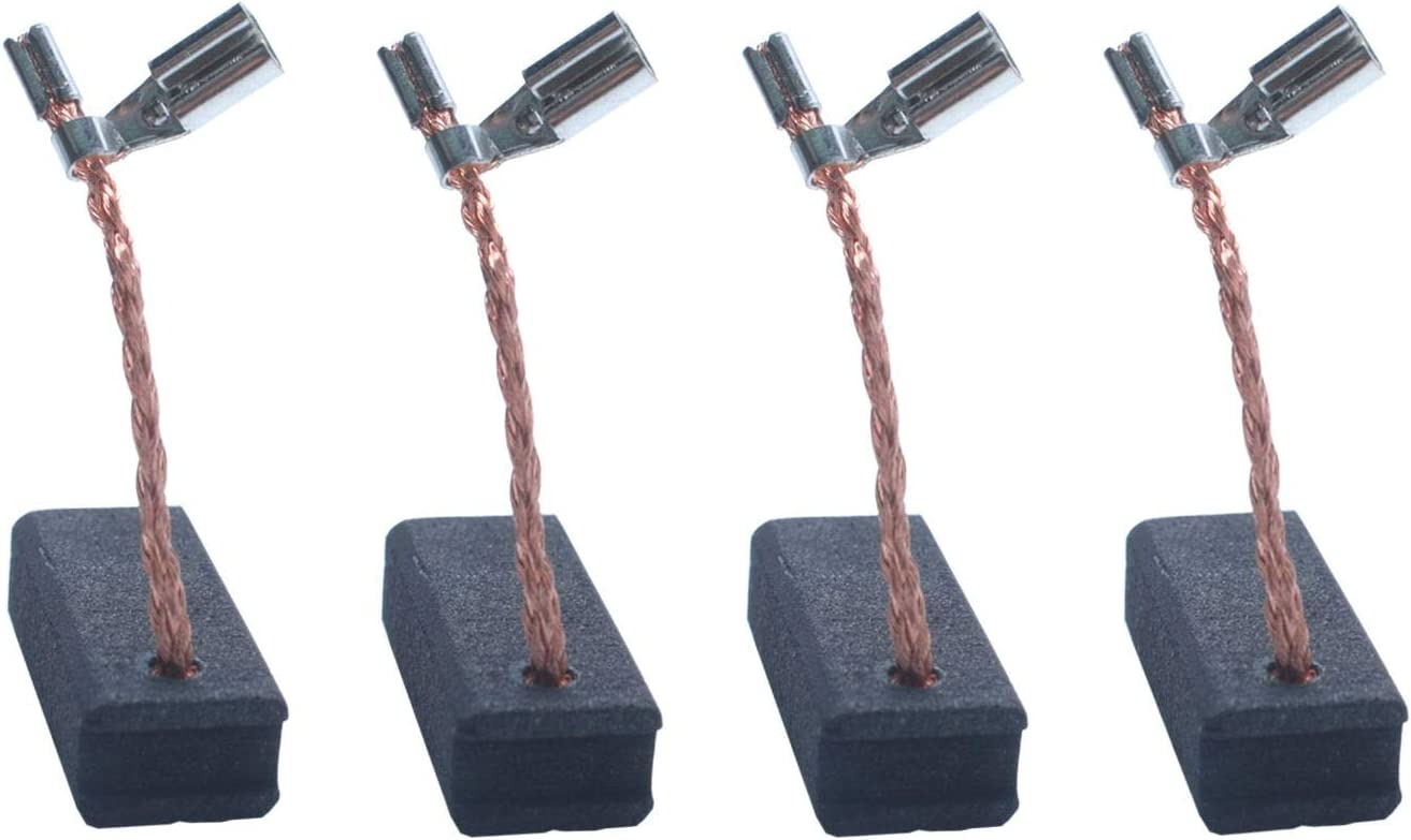 A27343 Carbon Brush for compatible with Dewalt DWP611 Porter Cable, 450 Router Compatible with DWP611PK, Porter Cable 450PK Replacement Carbon Brush (4 Pack)
