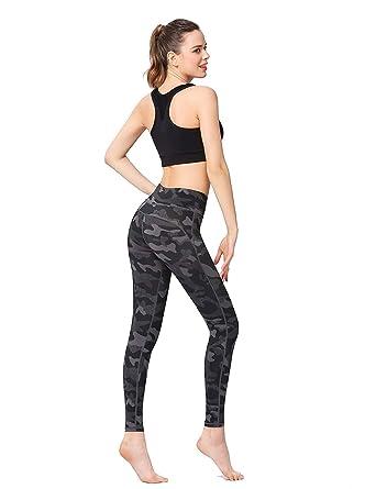 Huixin Pantalones Deportivos para Mujer Pantalones De Camuflaje ...