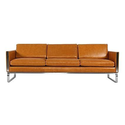 Amazon.com: Kardiel Amsterdam CH103 Mid-Century Modern Sofa, Premium ...