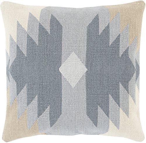 Surya 18 Square (Surya Cotton Kilim Poly Fill 18