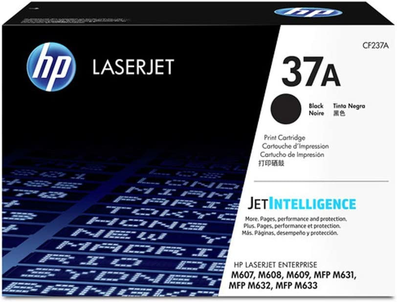 HP 37A | CF237A | Toner Cartridge | Black