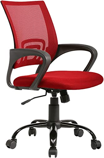Office Chair Cheap Desk Chair Ergonomic Computer Chair Mesh Back Support Modern Executive Adjustable Rolling Swivel Chair