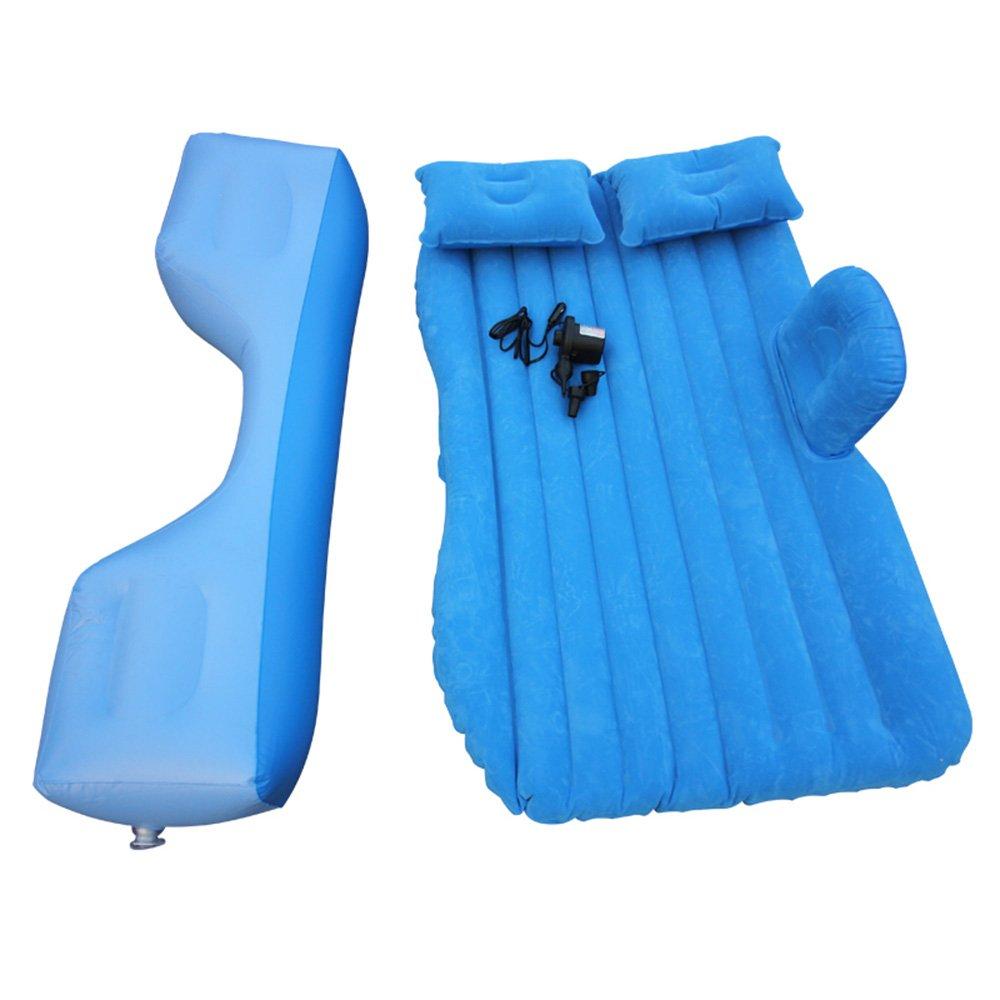 ZXQZ Auto-aufblasbares Bett SUV-Hintere Auspuff-Bett-Erwachsenes Außenreise-stoßfestes tragbares Bett Aufblasbares Bett