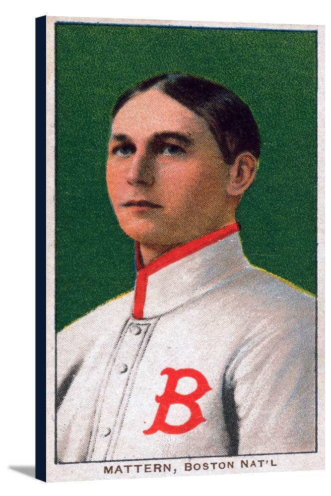 ボストンDoves – Alマッターン – 野球カード 19 x 36 Gallery Canvas LANT-3P-SC-21753-24x36 19 x 36 Gallery Canvas  B0184A6W0E