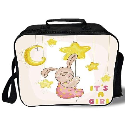 112b950b050c Amazon.com: Kids 3D Print Insulated Lunch Bag, Cartoon Like Cute ...