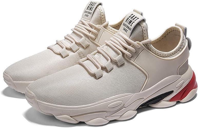 Hombre Zapatillas Deporte Realde Zapatos para Correr Transpirables Calzado sin Cordones Zapatillas de Deporte Ligeras Zapatillas Deportivas para Caminar Running Sports Sneakers Deporte Zapatos para: Amazon.es: Zapatos y complementos