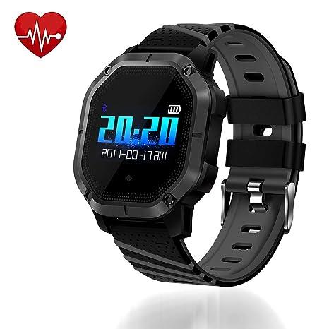 Amazon.com: UsHigh - Reloj deportivo inteligente con ...