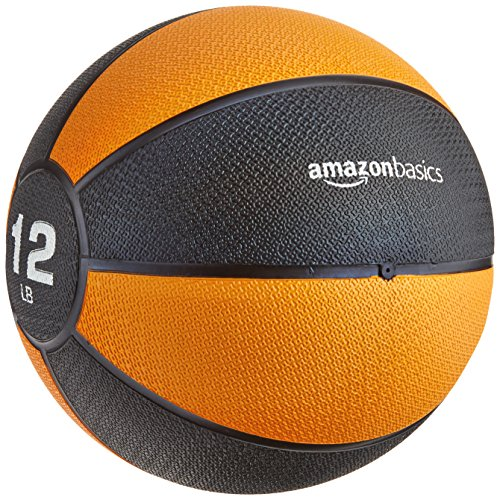 (AmazonBasics Medicine Ball, 12-Pounds)