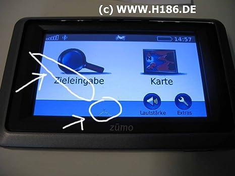 H186 REP_10 Kompatibel mit Garmin, Touchscreen Reparatur GPS Navigation Nuvi 550, Zumo 210 220 340 345 350 390 395 400 500 55