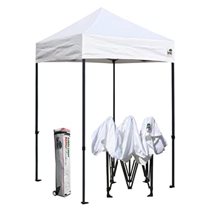 Amazon.com  Eurmax 5x5 Ez Pop up Canopy Outdoor Heavy Duty Instant Tent Pop-up Canopy Shelter with Deluxe Wheeled Carry Bag (White)  Garden u0026 Outdoor  sc 1 st  Amazon.com & Amazon.com : Eurmax 5x5 Ez Pop up Canopy Outdoor Heavy Duty Instant ...