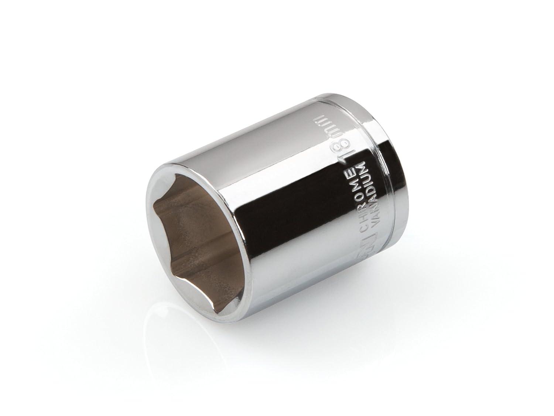 TEKTON 14197 3//8-Inch Drive by 16 mm Deep Socket Cr-V 6-Point