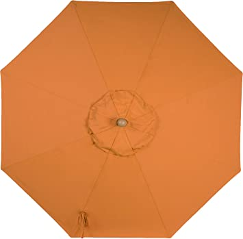 9ft 8 Ribs Market Umbrella Replacement Canopy (Sunbrella- Tuscan)  sc 1 st  Amazon.com : umbrella replacement canopy 8 ribs - memphite.com